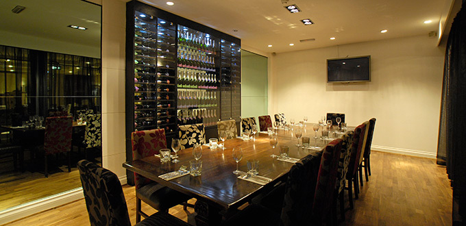 Private dining at grace bar the venue team for Best private dining rooms west end london